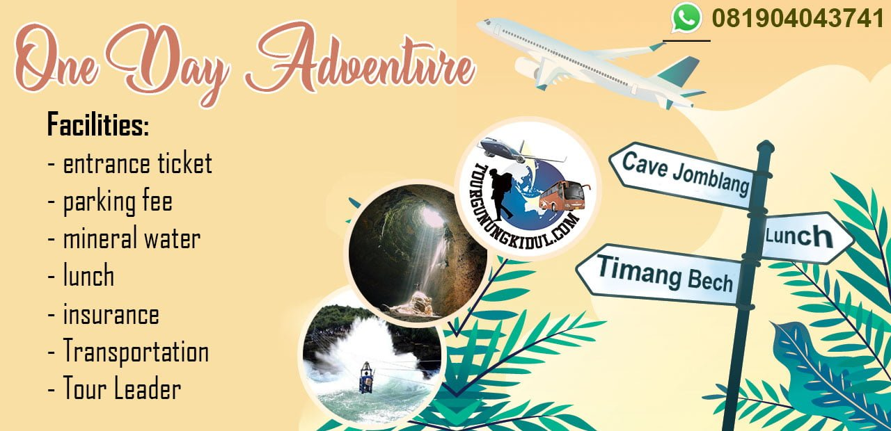 Paket Wisata Jogja Satu Hari di Goa Jomblang Gunungkidul Rp. 940.000 perpax