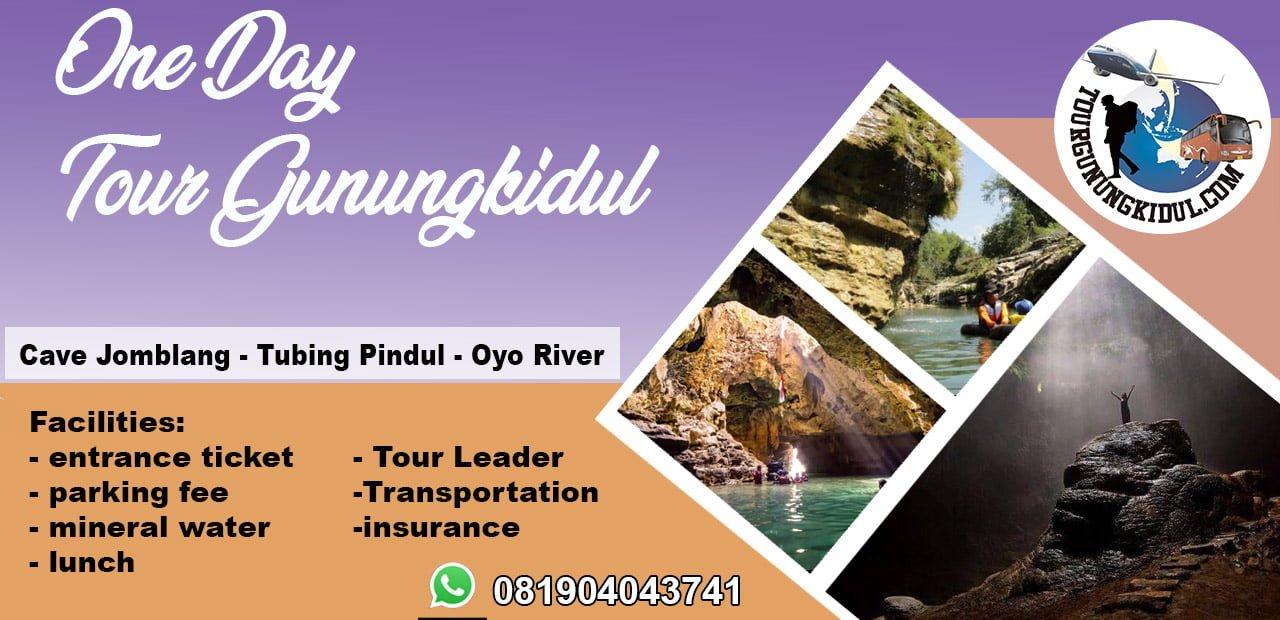 Paket Wisata Jogja Sehari Tour Goa Pindul
