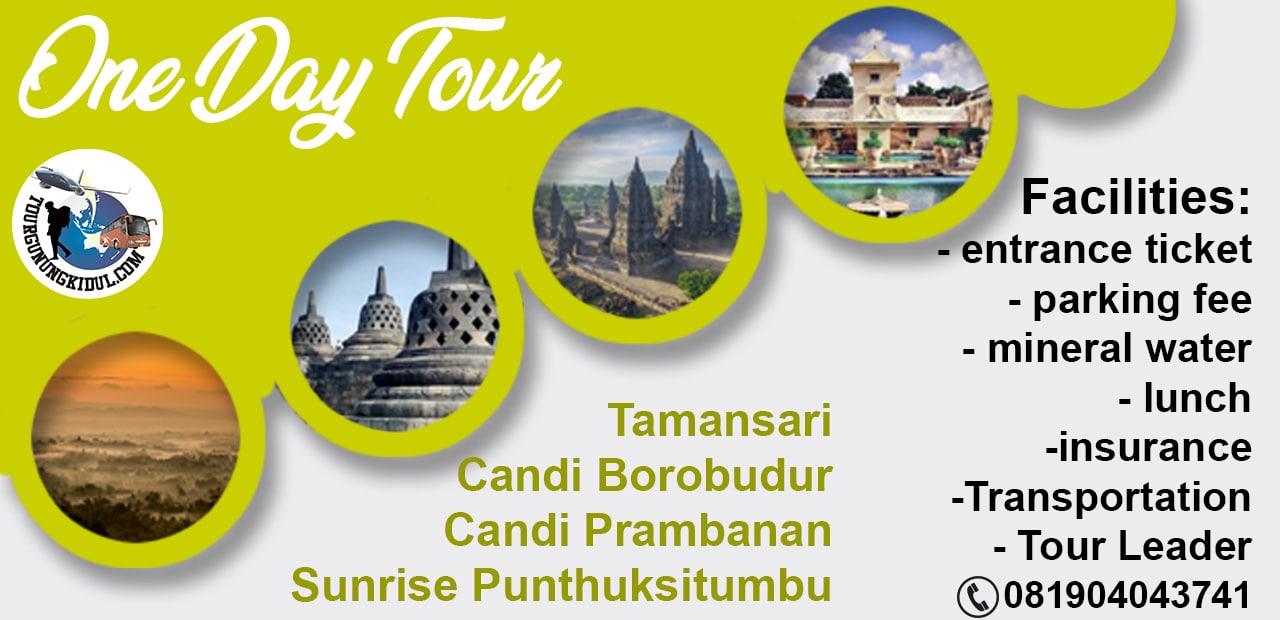 Paket wisata satu hari Jogja murah di Lokasi Sunrise Punthuk Situmbu
