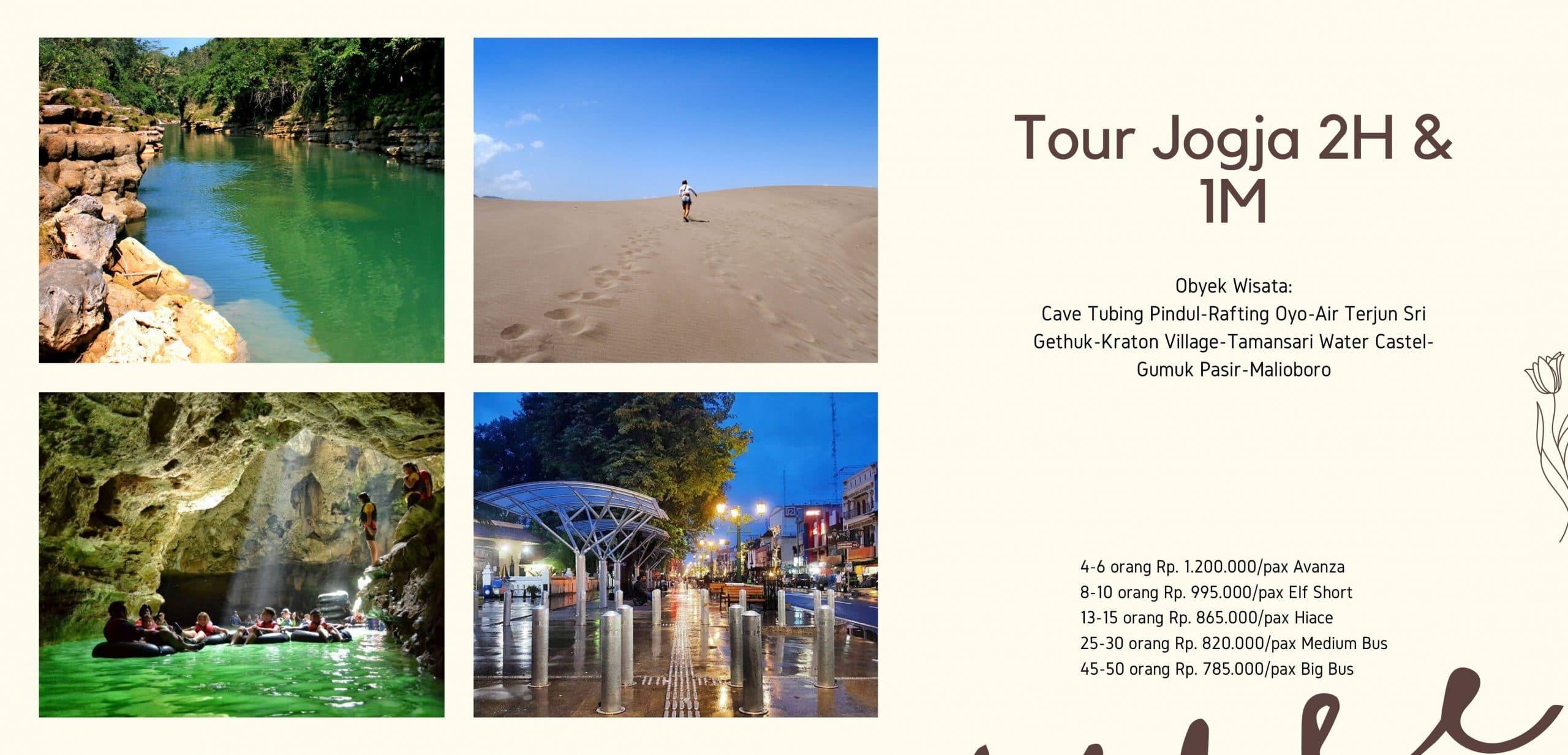Paket Tour Yogyakarta 2H1M Dengan Kualitas Bagus dan Terpercaya